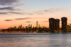 View of New York City from Queens Royalty Free Stock Images
