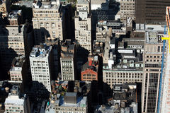 View of New York City rooftops Royalty Free Stock Photo