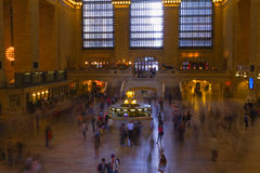 View of New York City, USA. Grand Central Terminal. Stock Photos