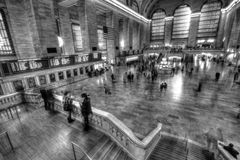 View of New York City, USA. Grand Central Terminal. Stock Images