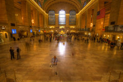 View of New York City, USA. Grand Central Terminal. Royalty Free Stock Photos