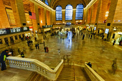 View of New York City, USA. Grand Central Terminal. Stock Photo