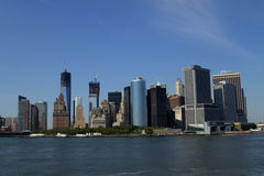 View of New York City, USA Royalty Free Stock Photography