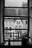 View from New York City window Stock Images