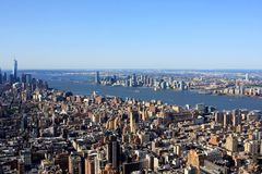 View of New York, USA. View of New York from Empire State building, USA Stock Image