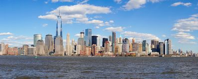 View of New York from Jersey City, New Jersey Stock Photo