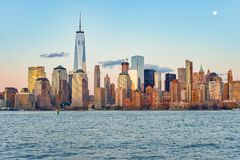 View of New York from Jersey City Royalty Free Stock Photography