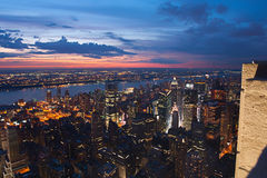 View on New York and New Jersey Stock Image