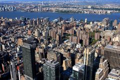 View of New York, USA. View of New York from Empire State building, USA Stock Photography