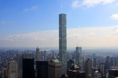 View of New York, USA. View of New York from the Top of the Rock building, USA Stock Images