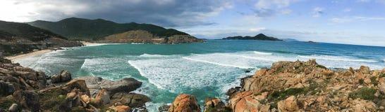 View of Nha Trang bay in Vietnam Royalty Free Stock Photos