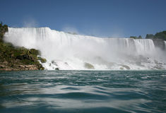View of Niagara Falls Royalty Free Stock Photos