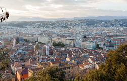 View of Nice city - Côte d'Azur, France Royalty Free Stock Photography