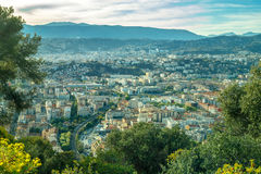 View of Nice - Cote d`Azur, France Royalty Free Stock Images