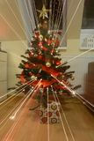 Christmes tree. View of nice decorated christmas tree stock photography