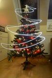 Christmes tree. View of nice decorated christmas tree stock photo