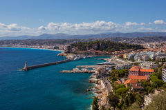 View of Nice (France) Stock Image