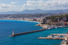 View of Nice (France) Royalty Free Stock Photo