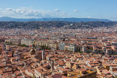 View of Nice (France) Stock Images