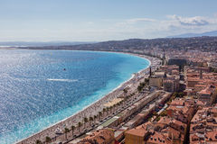 View of Nice (France) Stock Photos