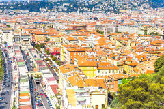 View of Nice, France Stock Photography