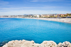 View of Nice, French Riviera Stock Photos