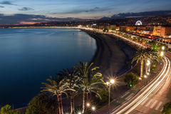 View of Nice in the French Riviera, France Stock Photos