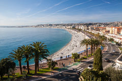 View of Nice in the French Riviera, France Stock Photo