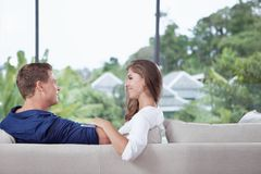 Flirting Stock Photo