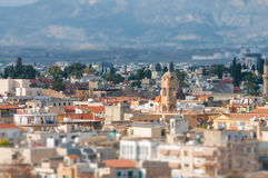 A view of Nicosia Royalty Free Stock Photo
