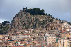 View of Nicosia, Sicily Stock Photography