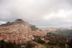 View of Nicosia, Sicily Stock Photo