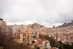 View of Nicosia, Sicily Stock Images
