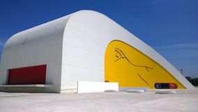 View of Niemeyer Center building, in Aviles, Spain Stock Photography