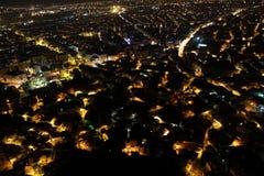 Night in Afyonkarahisar Royalty Free Stock Image