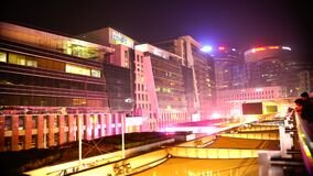 A View of Night CyberHub. Cyber Hub is a massive courtyard within Cyber City