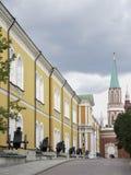 View of the Nikolskaya Tower of the Kremlin Stock Photos