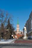 View of the Nikolskaya tower Stock Photos
