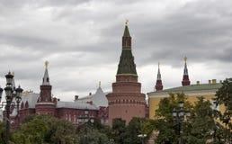 View of Nikolskaya Tower Royalty Free Stock Photos