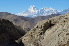 View of the Nilgiri Mountain royalty free stock images