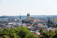 View of the Nitra city in Slovakia. Nitra has population of abou Royalty Free Stock Image