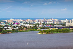 View of Nizhny Novgorod Royalty Free Stock Photos