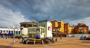 View of Nizhny Novgorod - Revolution Square Royalty Free Stock Photos