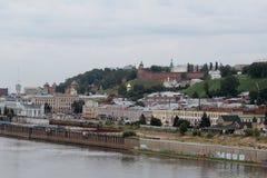 View of Nizhny Novgorod, Russia Stock Photo