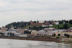 View of Nizhny Novgorod, Russia Stock Photos