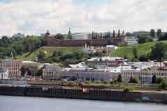 View of Nizhny Novgorod, Russia Royalty Free Stock Photography
