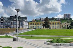 View of Nizhny Novgorod from the waterfront Royalty Free Stock Photo