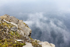 View from Nordkapp Royalty Free Stock Photography