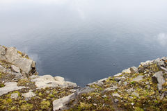View from Nordkapp Royalty Free Stock Image