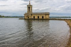 The view north across Rutland Water in the UK from Normanton. On a quite and peaceful autumn afternoon stock images